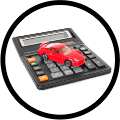calculator car