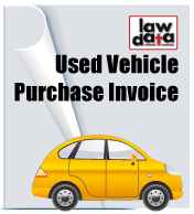 used vehicle purchase invoice